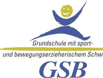 """Logo des Programms """"GSB Grundschule mit sport- und bewegungserzieherischem Schwerpunkt"""""""